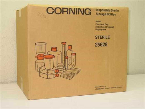 Corning  25628  Disposable sterile storage bottles 500mL