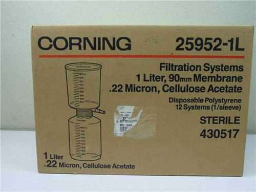 Corning 430517  Filtration systems 1 litre, 90mm Membrane .22micro
