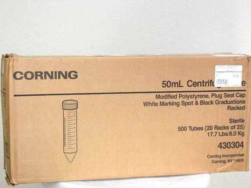 Corning 430304  50ml Centrifuge Tube - Case of 500 Qty - 25339-50