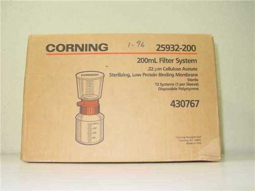 Corning 430767  FILTER SYSTEM 25932-200 200ml .22