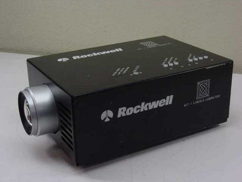 MIT/Lincoln Laboratory 123 mm 1 2.8  Rockwell LCD Projector As-Is