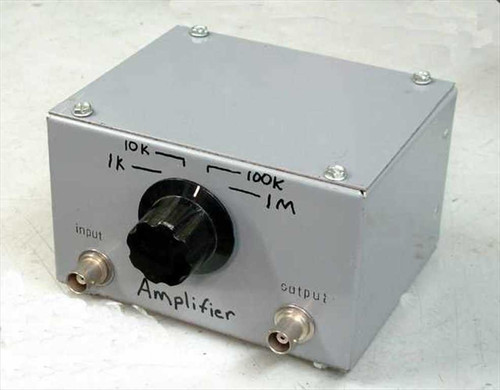 Custom N/A  Amplifer in a box, selectable gain.