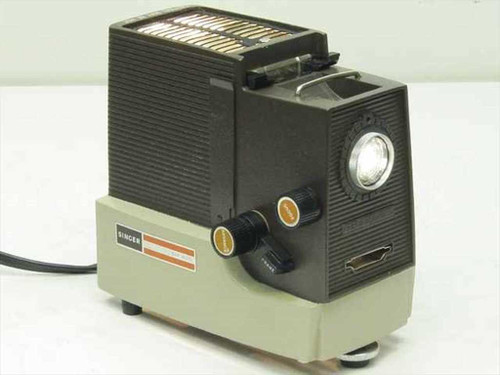 Singer  SM 400  Filmstrip / Slide Projector w/Case