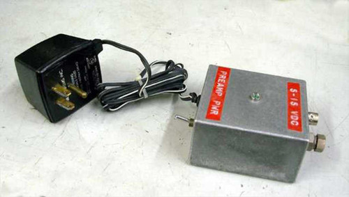 Custom Shop Made  Regulated Variable 5 - 15 Volt DC Power Supply
