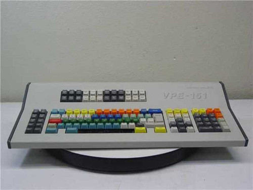 Grass Valley Group 151  Main Keyboard for GVG VPE-151 Editor
