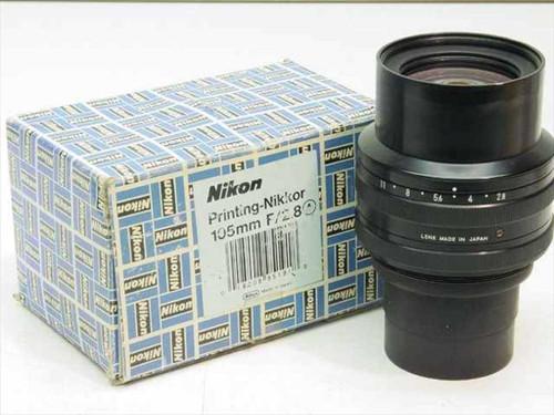 Nikon / Nikkor 105mm f/2.8  Printing - Lens