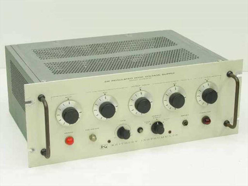 Keithley Instruments ~Rib~ 241  Regulated High Voltage Supply