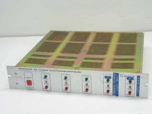 ISA Riber ~Rib~ CVEP  Electropneumatic Valve Control - Rackmount