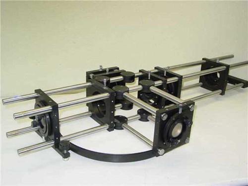 Spindler & Hoyer / Newport NRC  Optical alignment frame w/ Newport Optics
