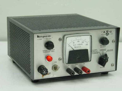 Kepco Mod ABC 200M  DC power supply 0-200 V 0-100 mA - As Is