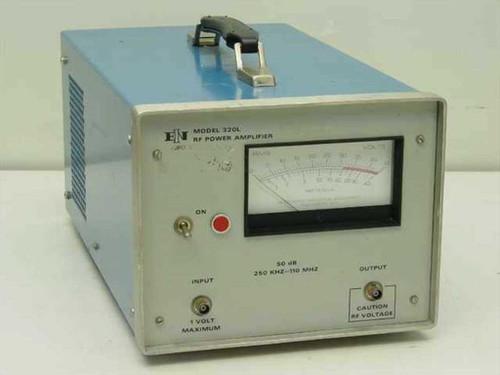 ENI 320L  RF Power Amplifier w/ Output Power Meter 250 kHz - 110 MHz