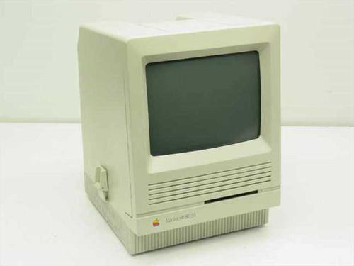 Apple M5119  Macintosh SE 30 Vintage Desktop Computer - As Is