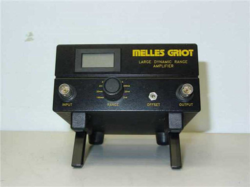 Melles Griot 13AMP003  Melles Griot 13AMP003 Transimpedance Dynamic Range