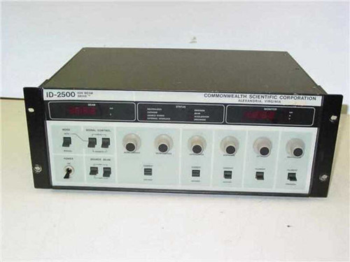 Commonwealth Scientific Corp. ID-2500  Ion Beam Drive - Rackmount