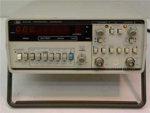 HP / AGILENT 5315A/01  Universal Frequency Counter w/ TCXO Timebase