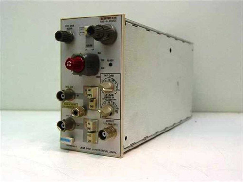 Tektronix AM 502  Differential Amplifier