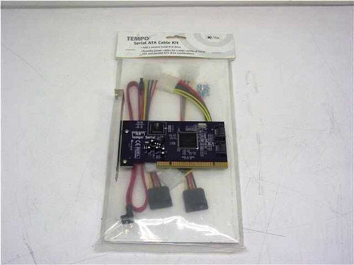 Sonnet Tempo  Dual Port Serial ATA PCI Host Adapter Card with Ca
