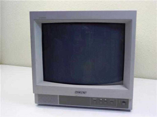 Sony Trinitron SSM-14n5u  Color Video Monitor 14""