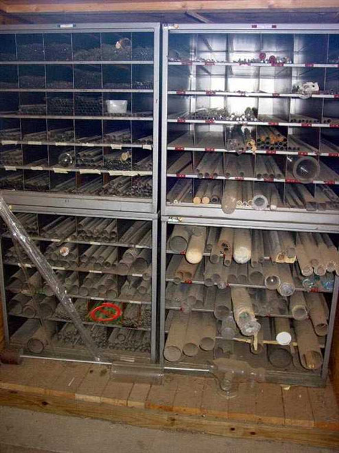 Scientific Glass Blowers  Glass - 4 Foot Lengths - Entire Stock Glass Borosi