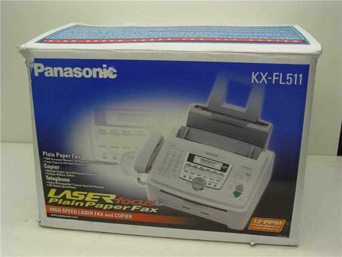 Panasonic KX-FL511  Panasonic High Speed Fax/Copier