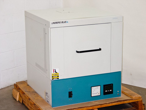 Lindberg Blue M BF51664PC  Box Furnace 1700C 7.1 KW .9 CF Digital Control