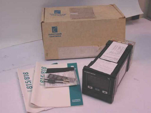 Eurotherm 818P15  Temperature Controller As Is