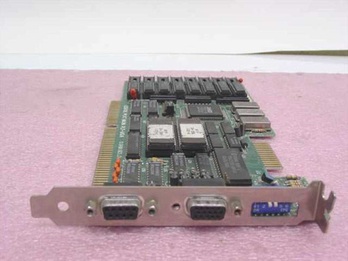 Trident TVGA8816CS_D1  Dual MONO/VGA 16BIT Video Card