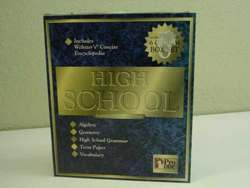 PRO ONE 72028653691  High School Learning Resource library