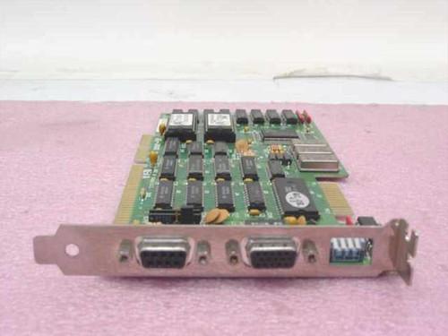 Diamond Flower VG-3000  Dual Video Card - CGA / VGA / EGA / Monochrome / X
