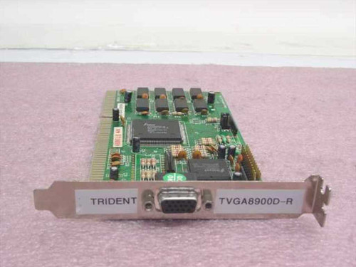 Trident VC415M8  16 Bit ISA Video Card TVGA8900D-R