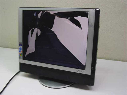 """Sony PCV-V300G  VAIO 15"""" Monitor all-in-one PC - Cracked Screen, P"""