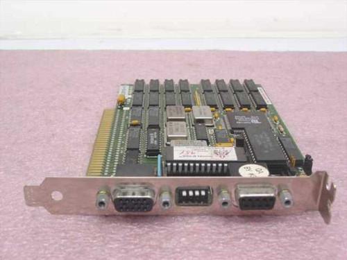 Orchid 830-0008  Super VGA Video Card 9 & 15 pin