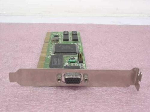 Trident JAX8237/A10020236  ISA Video Card