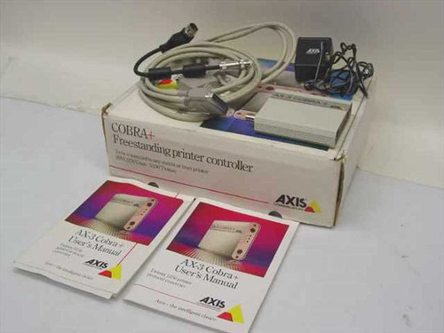 Axis Communications AX-3 Cobra&  Freestanding printer controller 0036-2 Protocall Converter