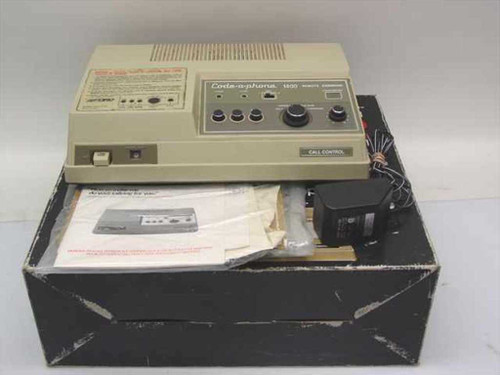 Ford Industries Inc Code-a-phone 1400  Answering Machine