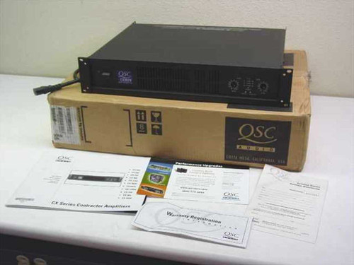 QSC Audio CX302V  Direct 70 Audio Speaker Power amplifier