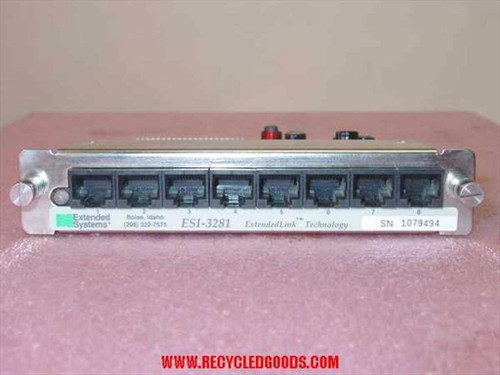 Extended Systems  8-port Sharespool XL ESI-3281