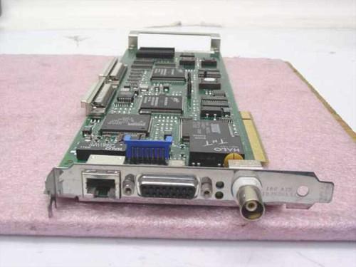 Digital 54-24101-01  PCI Network RJ43 BNC 15-Pin triple SCSI 68-Pin Card