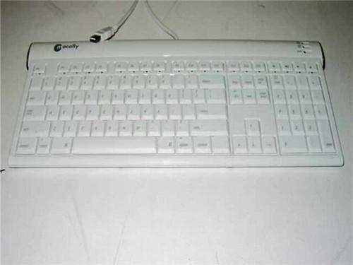 Macally ICEKEY  Macintosh USB Keyboard White