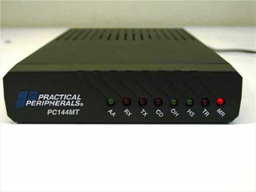 Practical Peripherals PC144MT  External Modem 14.4 with RS232 connection