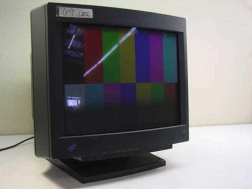 "IBM 6555-8E3  P201 20"" CRT Monitor 15-Pin SVGA - Black"