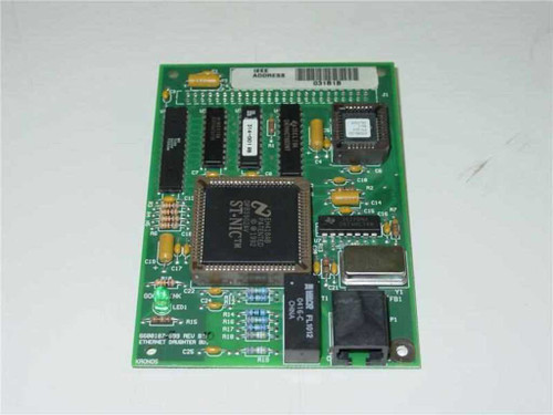 Kronos 6600187-999 Rev B  Ethernet Daughter Board 6700381-001 ETH.1A08 Rev B