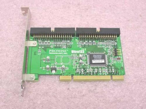 Promise Tech Ultra133Tx2  IDE Hard Drive PCI Controller Card
