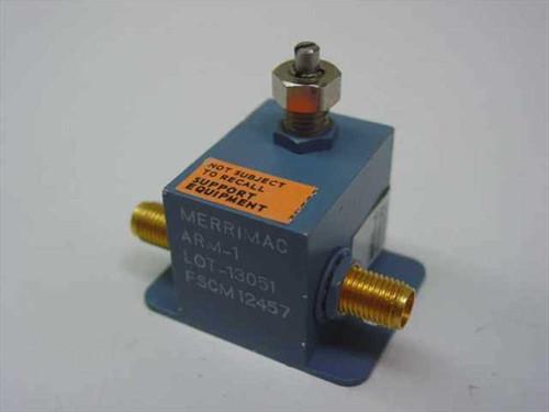 Merrimac FSCM12457  Variable Attenuator with SMA-F Connectors