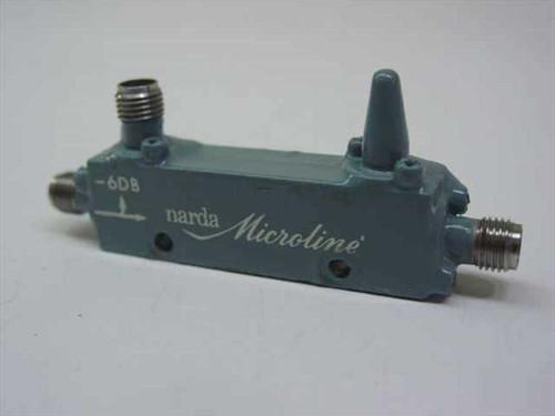 Narda 4012C-6  Microline Directional Coupler 1-2 GHz -6 dB