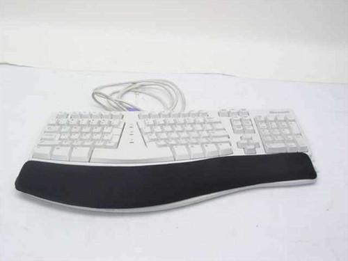 Microsoft X06-19331   Ergonomic Keyboard PS/2