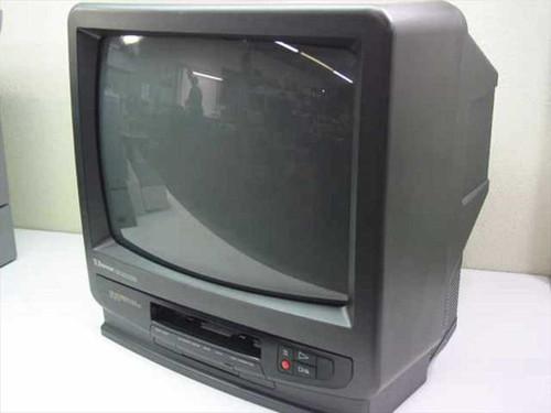 "Emerson VT 1921  19"" Color Television/Video Cassette Recorder - Mis"