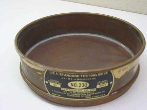 WS Tyler, Inc No. 230  USA Standard Testing Sieve