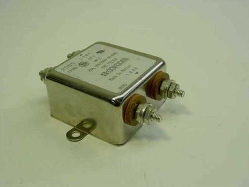 Corcom 20B6  EMI Line Filter