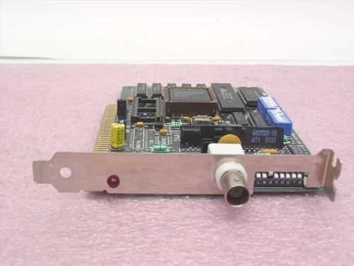 Thomas-Conrad TC6242  ISA 8-Bit Network Adapter Card BNC